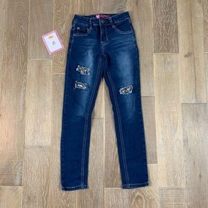 Beautees Straight Leg Jeans
